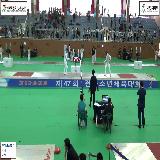 """""""제47회 전국소년체육대회/남중부/사브르"""